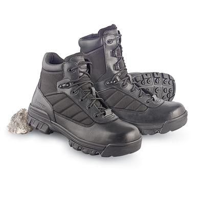 Men's Bates Enforcer Boots, Black or Men's Bates Enforcer Ultra-Lite Boots, Black