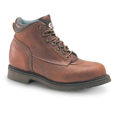"Men's Carolina® 6"" Boots, Amber Gold"