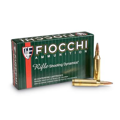 Fiocchi Rifle Shooting Dynamics, .243 Winchester, PSP, 70 Grain, 20 Rounds