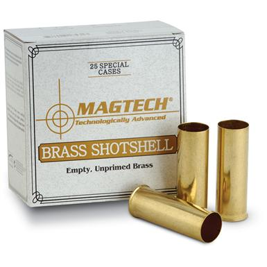 25 rds. Magtech Loadable Brass Shotshells