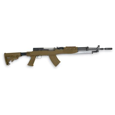 TAPCO T6 6-Position SKS Stock with Blade Bayonet Cut, Olive Drab