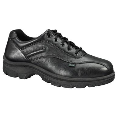 Thorogood Double Track Oxford Duty Shoes, Black