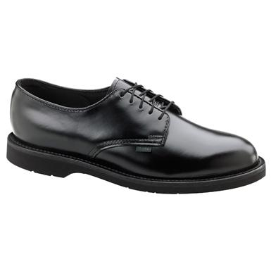 Men's Thorogood Classic Leather Oxford Dress Shoes, Black