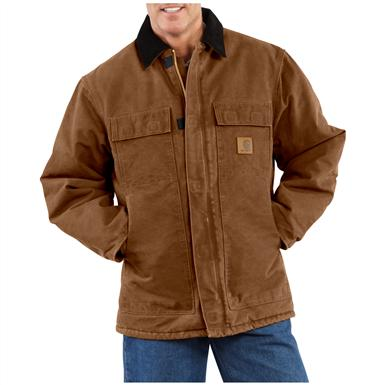 Carhartt® Sandstone Traditional Coat, Brown