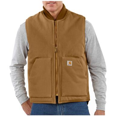 Carhartt® Arctic Quilt Lined Duck Vest, Brown
