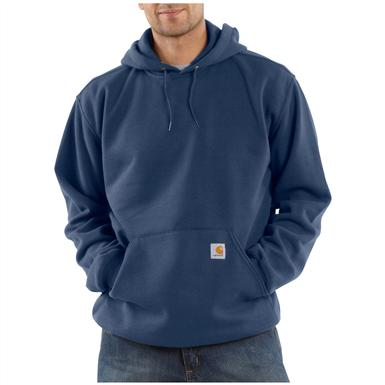 Carhartt® Midweight Hooded Pullover Sweatshirt, New Navy