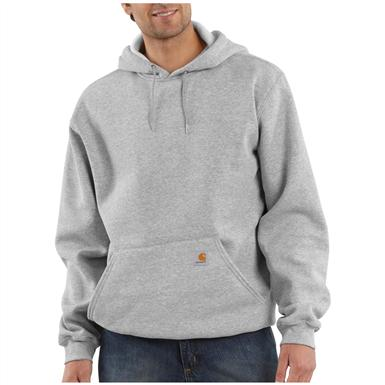 Carhartt® Midweight Hooded Pullover Sweatshirt, Heather Gray