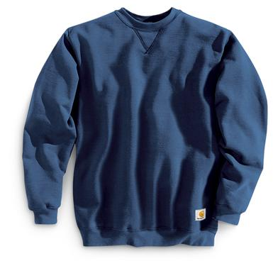 Carhartt Workwear Midweight Crewneck Sweatshirt, New Navy
