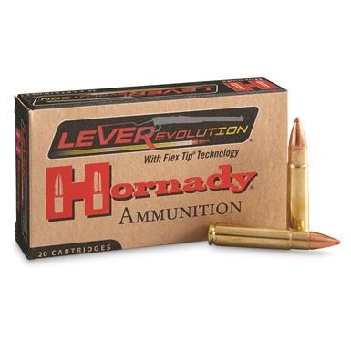 Hornady Leverevolution,.444 Marlin, FTX, 265 Grain, 20 Rounds