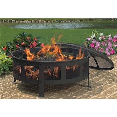 CobraCo Mesh & Flat Wire Fire Pit