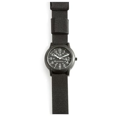 2 Military-style Army Watches, 1 Black