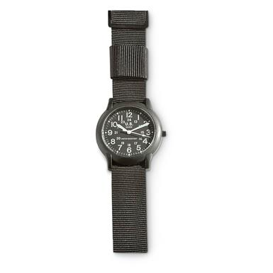 Military-Style Army Watch, Black