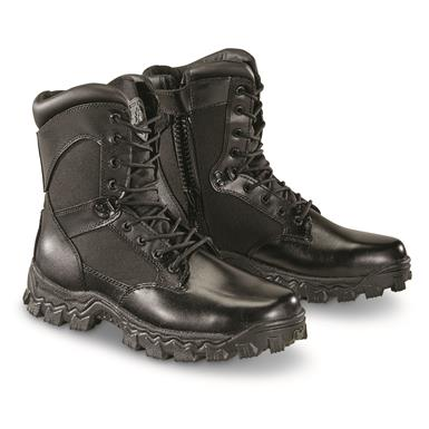 Rocky Alpha Force Men's Side-Zip Waterproof Duty Boots