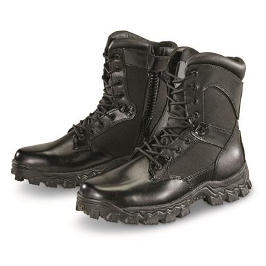 Rugged, bold, military inspired and ready to serve!, Black