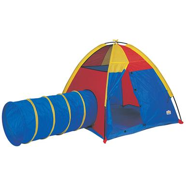 Pacific Play Tents Hide-Me Tent and Tunnel Combo