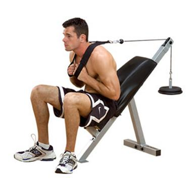 Body-Solid PowerLine Ab Bench