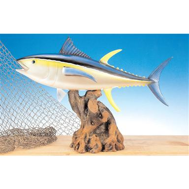 Land & Sea Yellow Fin Tuna Fiberglass Statue
