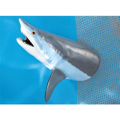 "Land & Sea 36"" Giant Mako Shark Wall Plaque"
