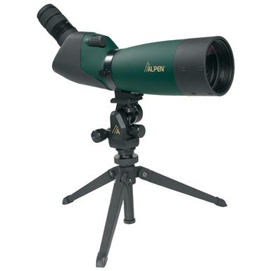 Alpen 20-60x80 mm Waterproof Spotting Scope with 45 Degree Eyepiece