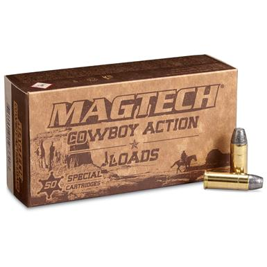 Magtech Cowboy Action Loads, .44 Special, LFN, 200 Grain, 50 Rounds