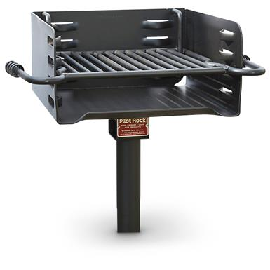 Pilot Rock Heavy-Duty Multi-Level Park Grill
