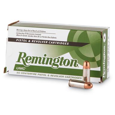 Remington UMC Handgun, .38 Super Auto (+P), MC, 130 Grain, 1,000 Rounds