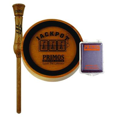 Primos Jackpot Turkey Call with Glass Surface