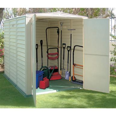 DuraMax 5x8' YardSaver Vinyl Shed with Floor