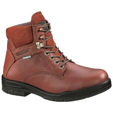 "Wolverine Men's DuraShocks® 6"" Steel Toe EH Boots"