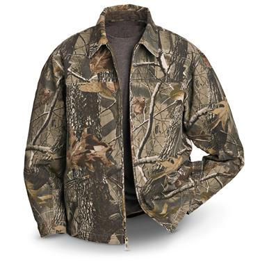 DRI DUCK Trekker Lined Spring Jacket, Realtree Hardwoods HD