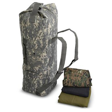 Military-Style Canvas Duffel