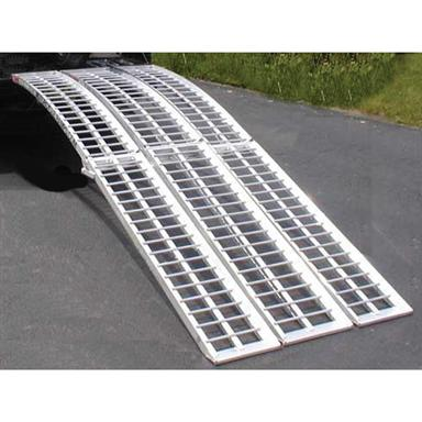 Extreme Max 8 ft. Heavy Duty Utility Ramp