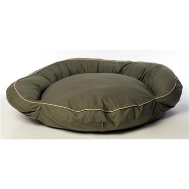 Carolina Pet Co.® Classic Twill Bolster Bed, Sage