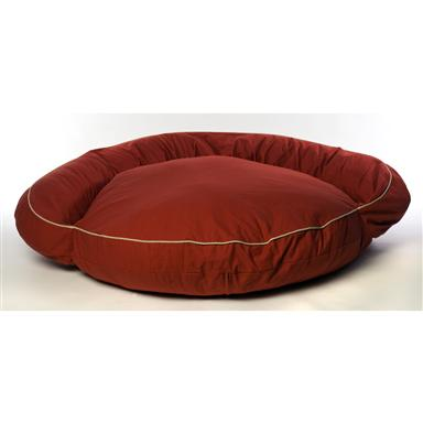Carolina Pet Co.® Classic Twill Bolster Bed, Red