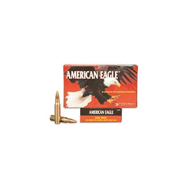 Federal American Eagle, .308, FMJBT, 150 Grain, 500 Rounds