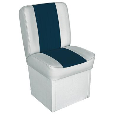 Wise Deluxe Jump Seat, White / Navy