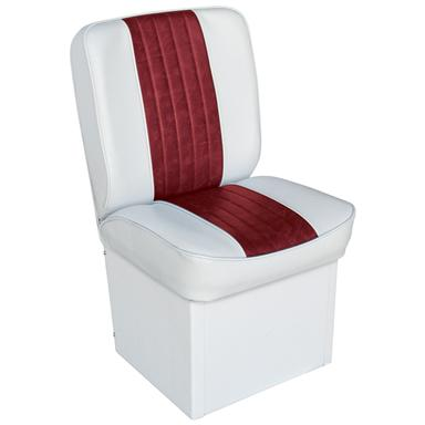Wise Deluxe Jump Seat, White / Red