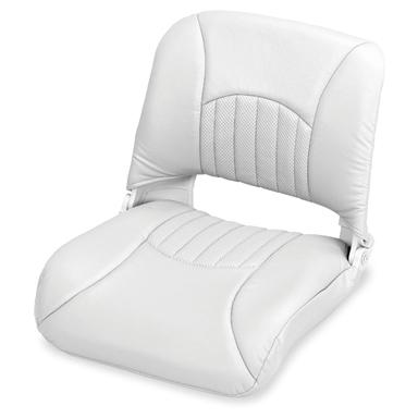 Wise® Molded Plastic Seat, White