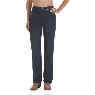 "Wrangler® Women's 30"" Inseam Cowboy Cut Slim Fit Jeans, Prewashed Indigo"