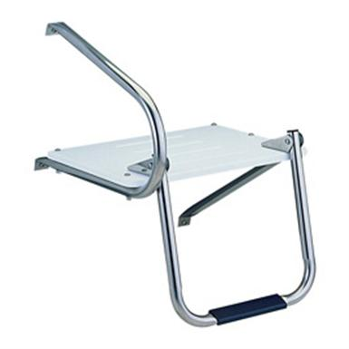 Garelick Outboard Swim Platform and Fold-down Ladder