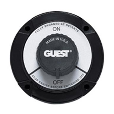 Guest Battery On / Off Switch, Black