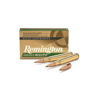 Remington Accutip Rifle Ammo, .30-06 Springfield, Accutip-BT, 180 Grain, 20 Rounds
