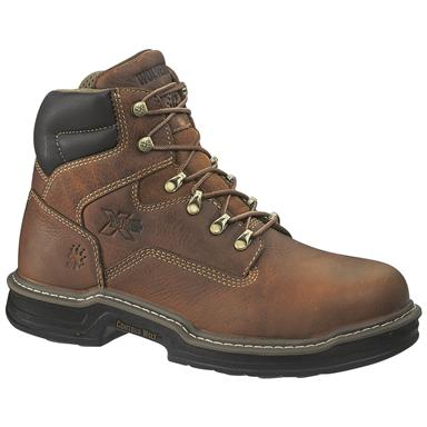 "Wolverine Men's Raider 6"" MultiShox Boots, Brown"