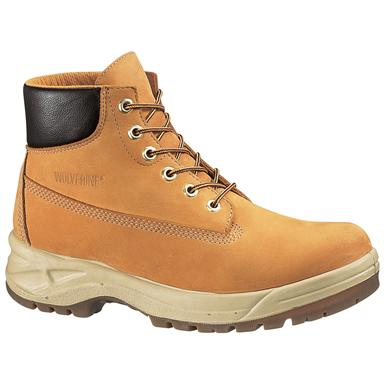 "Wolverine® Men's 6"" Waterproof Chukka Work Boots, Gold"