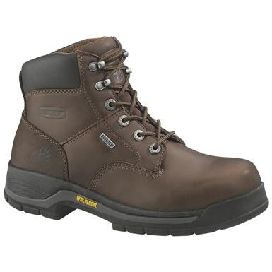 "Wolverine Men's 6"" Harrison Gore-Tex Waterproof Boots, Brown"