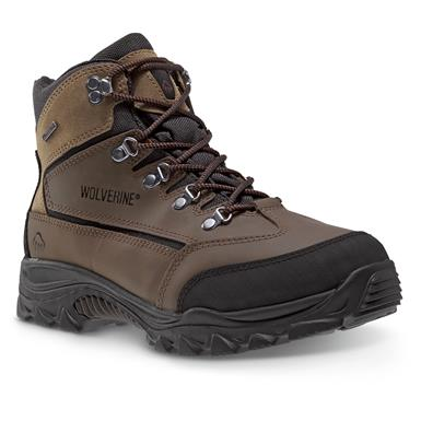 Wolverine Men's Spencer Boots, Waterproof, Brown / Black