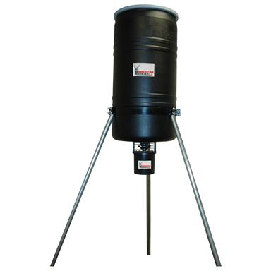 American Hunter 270-lb. Tripod Feeder with R-Kit Pro and Varmint Buster