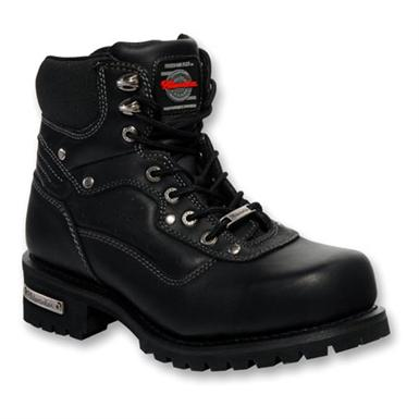 Men's Milwaukee Mechanic Boots, Black