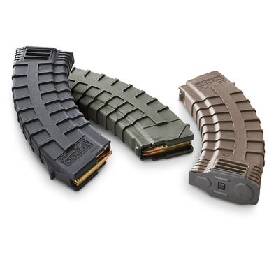 TAPCO 30-rd. AK-47 Mags, Flat Dark Earth