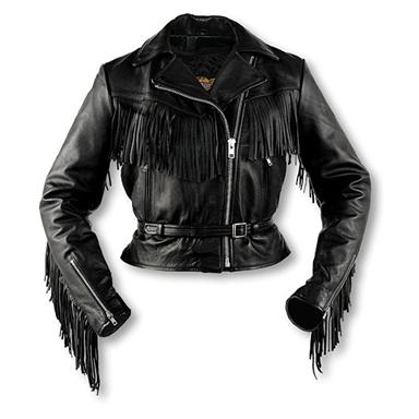 Women's Interstate Leather Fringe Jacket